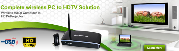 Wireless 1080p Computer to HDTV Kit