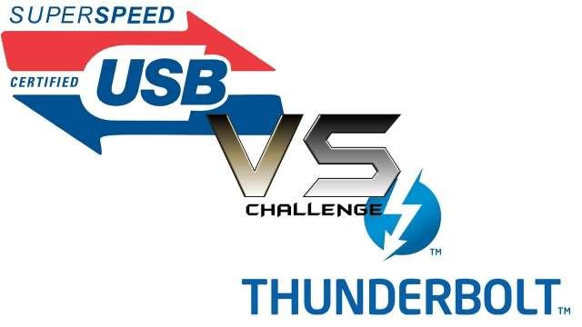 USB 3.0 vs. Thunderbolt