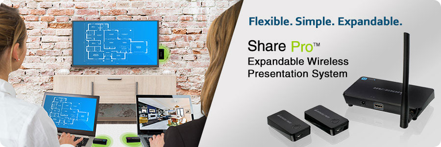 Share Pro Expandable Wireless Presentation System