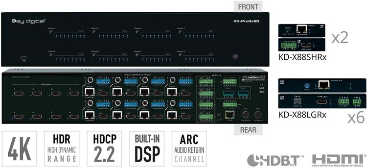 KD-Pro8x8D
